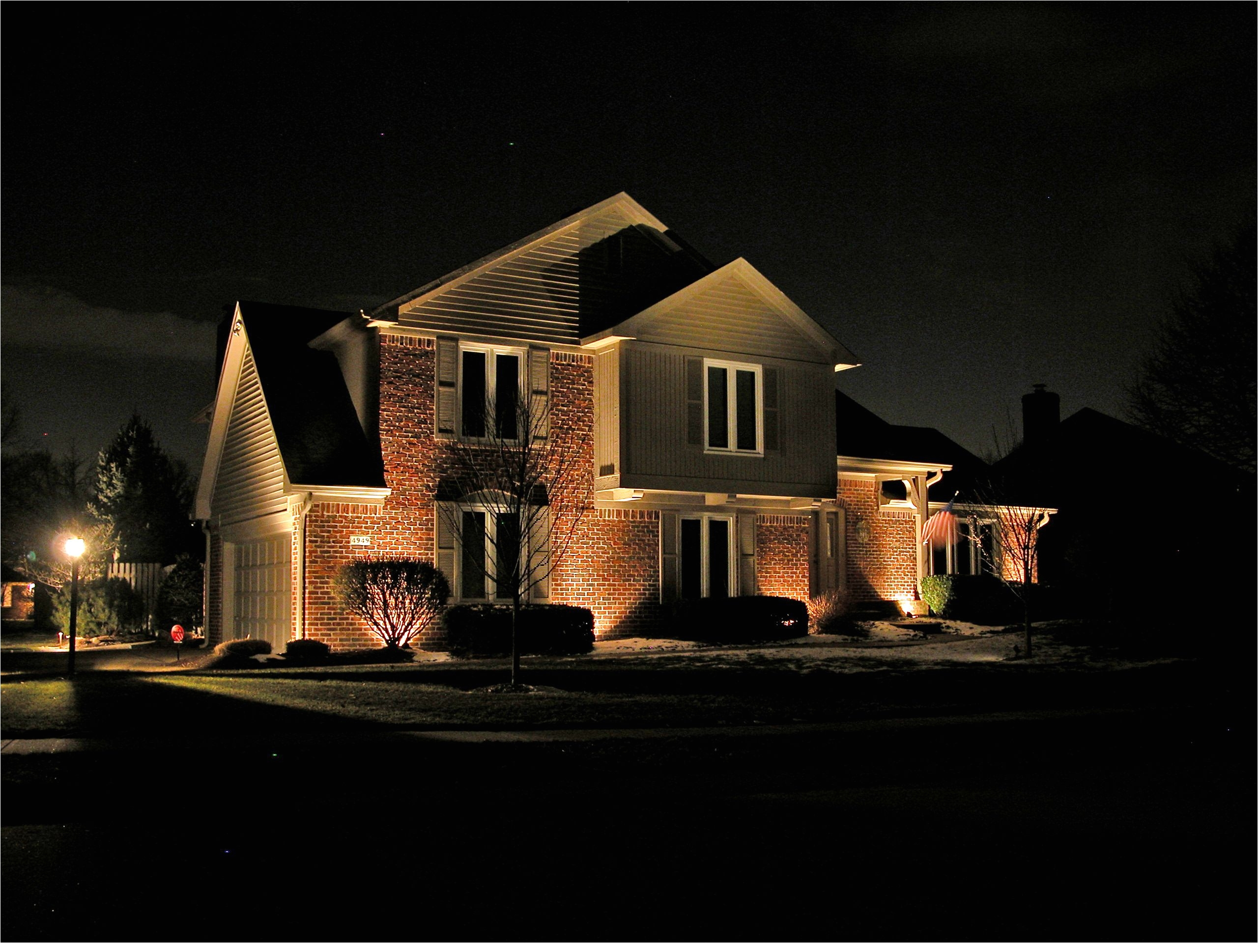 exterior soffit lighting fixtures design