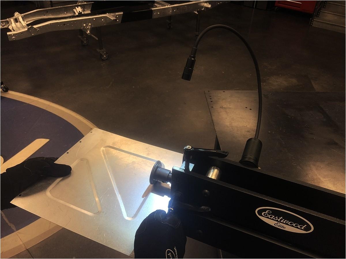 eastwood cob led flexible work light item 31881