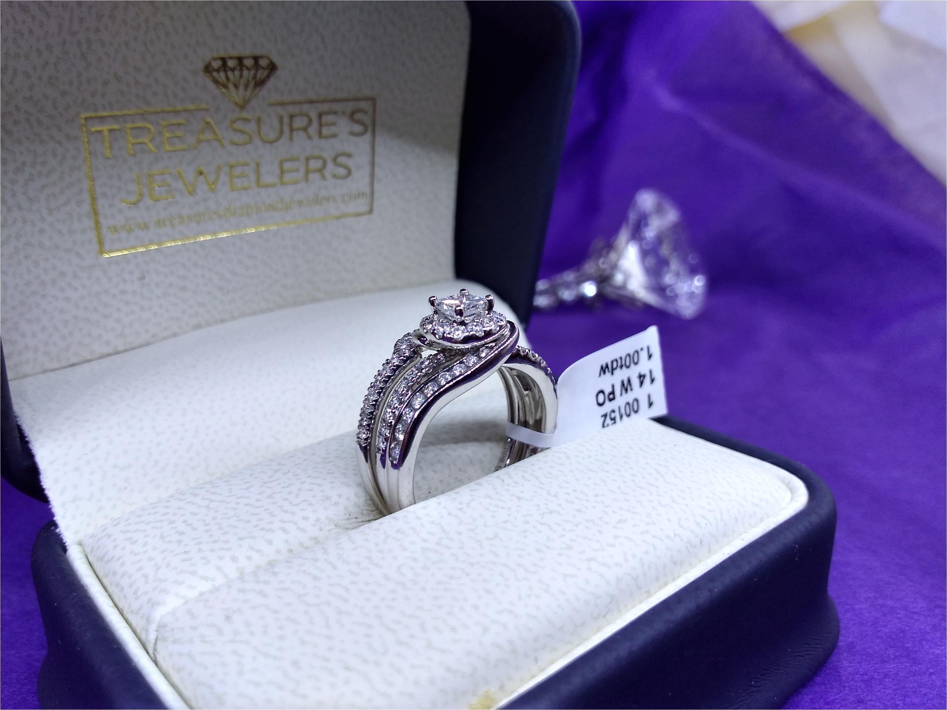 light blue diamond engagement rings lovely custom diamond bridal set 14k white gold diamond wedding ring