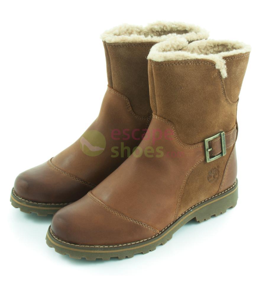 boots timberland a14od asphalt trail skyhaven shearling light brown