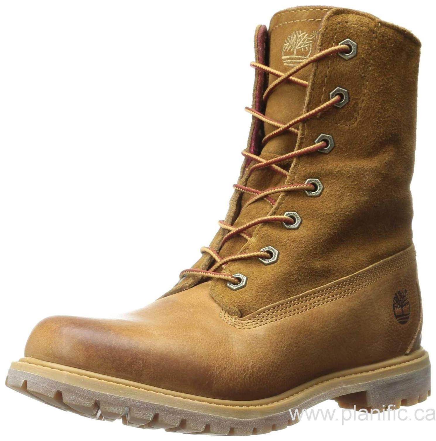 od566850344 canada timberland womens authentics fold down boot wheat woodlands red pendleton wool