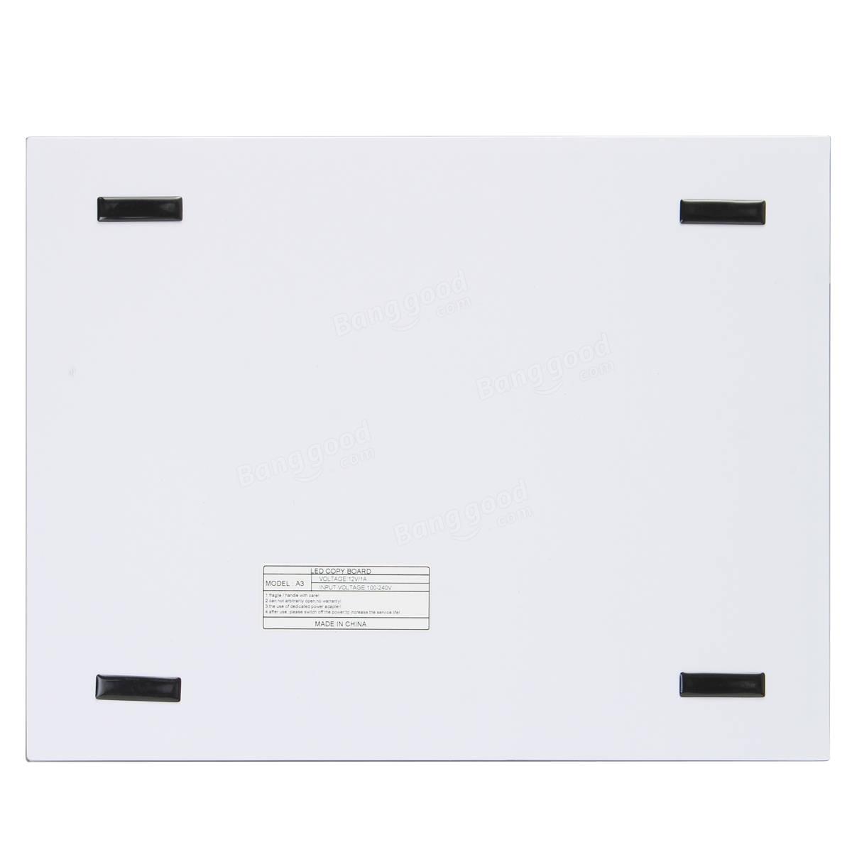 thin a3 led light box tracing board art design stencil drawing pattern copy pad