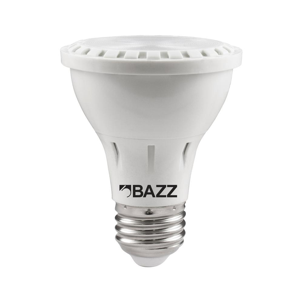 50w equivalent soft white par20 led flood light bulb