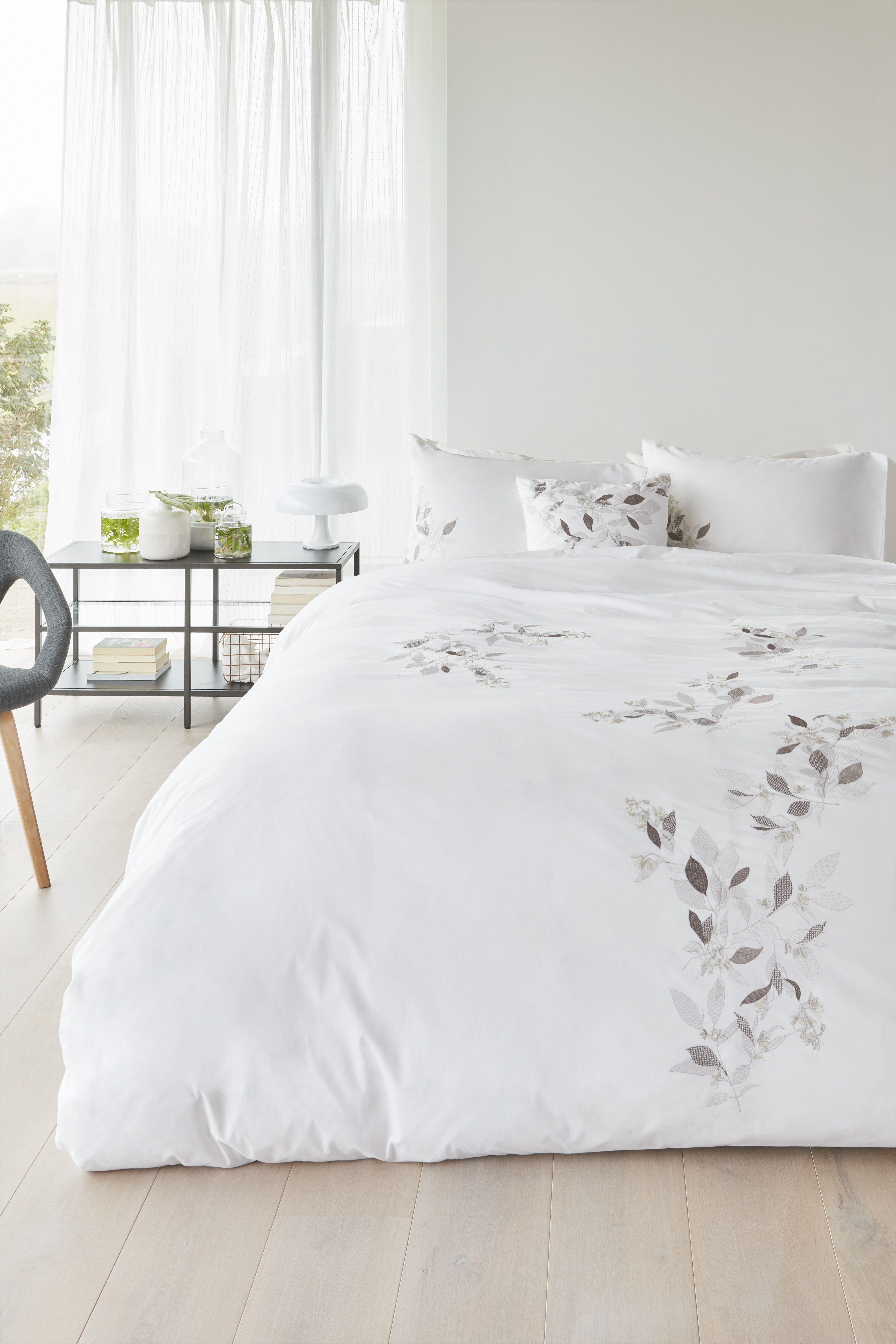 Light Down Comforter Dekbedovertrek Margaret Muir Marlene White Nieuwe Collectie