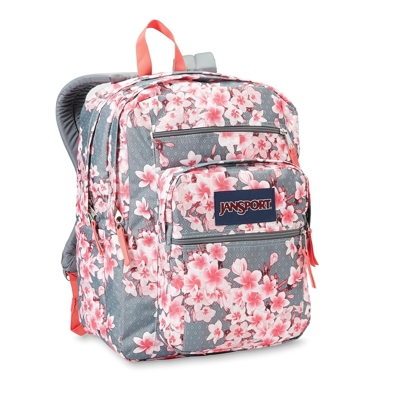 jansport big student backpack floral