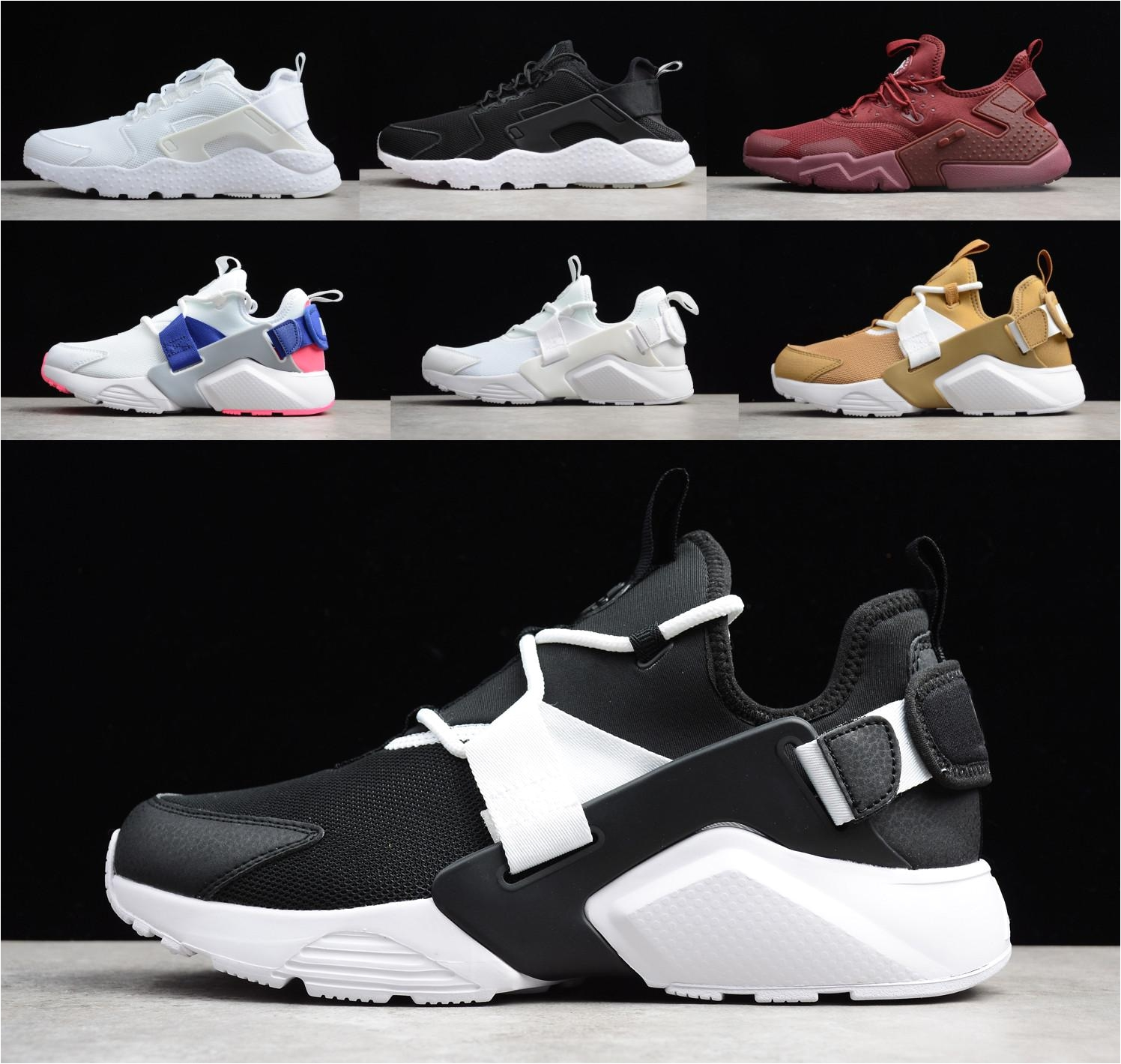 new color huarache custom running shoes for men women navy blue air 3 0 6 0 5 0 sneakers designer brand trainers shoes men sports shoes shoe shops from