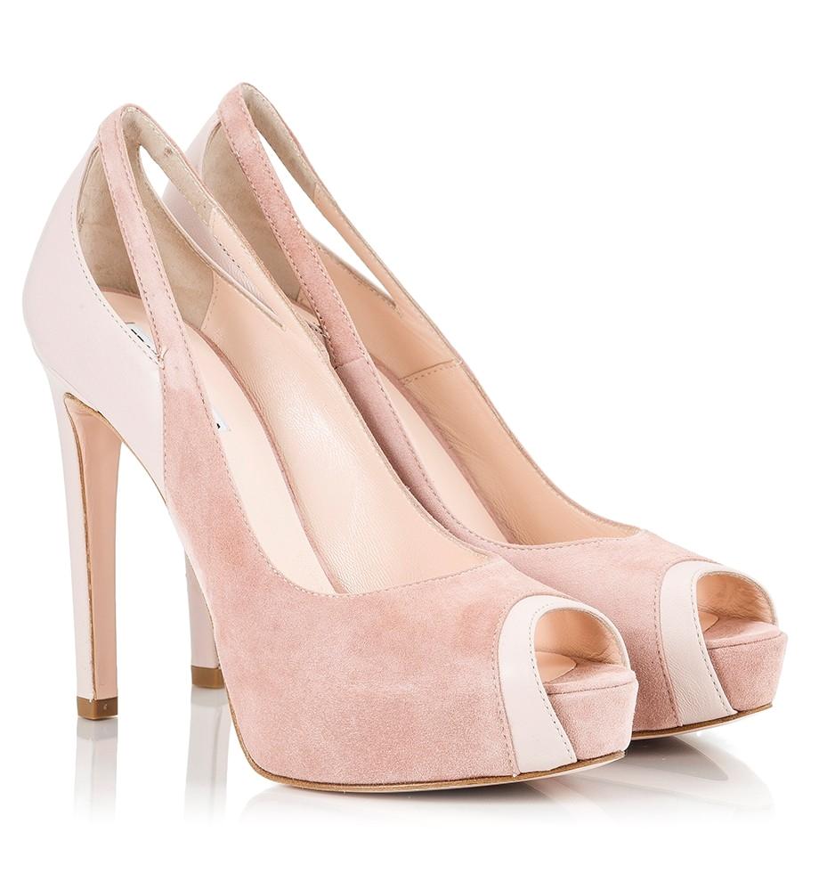 high heels light pink photo9