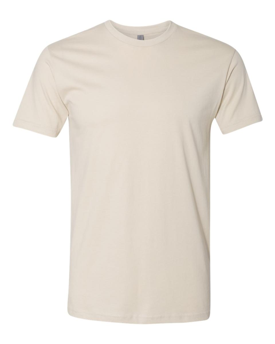 next level 3600 t shirt cream