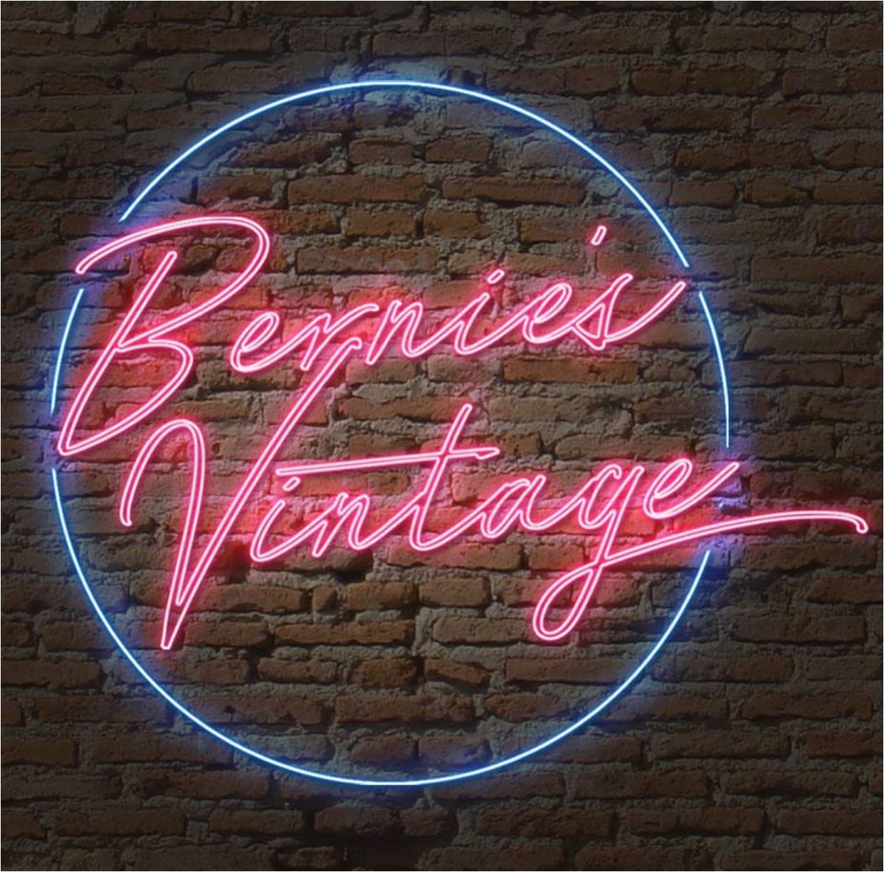 neon bernies vintage