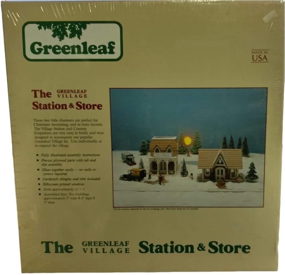 amazon com the greenleaf village station store country emporium home kitchen