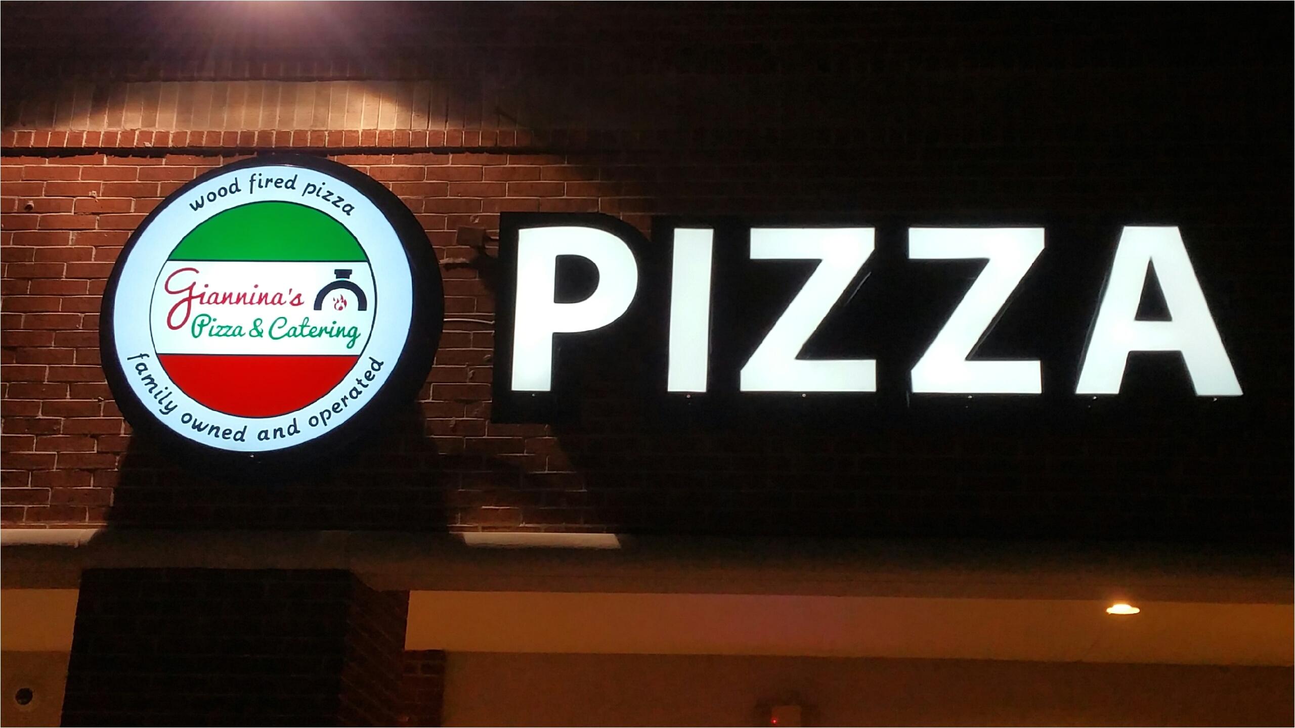 restaurant gianninas pizza cypress tx lighted sign
