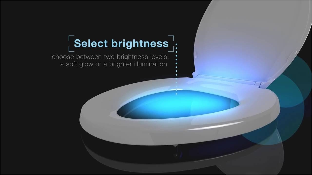 kohler toilet seats with nightlight