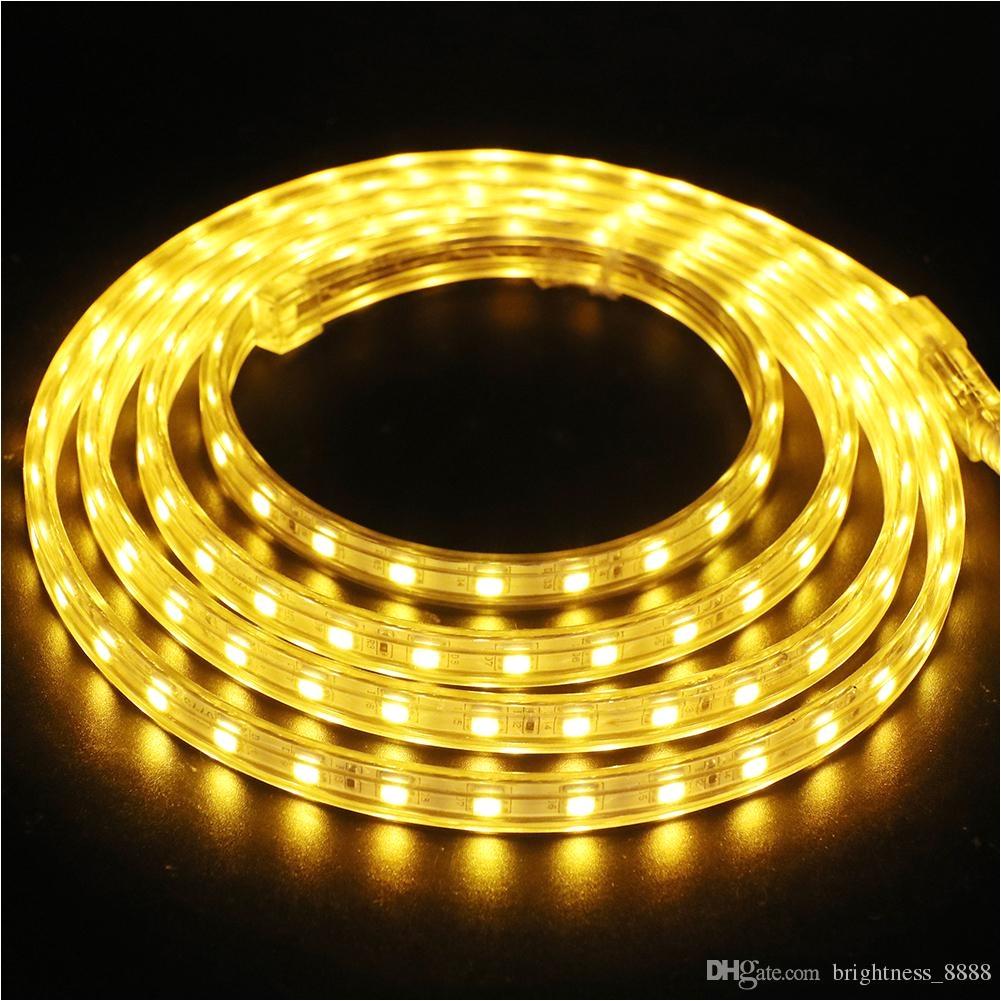 220v 230v dimmable led strips smd 5050 rope light ip68 flex lights for outdoor lighting string disco bar pub christmas party led rope light flex rope light