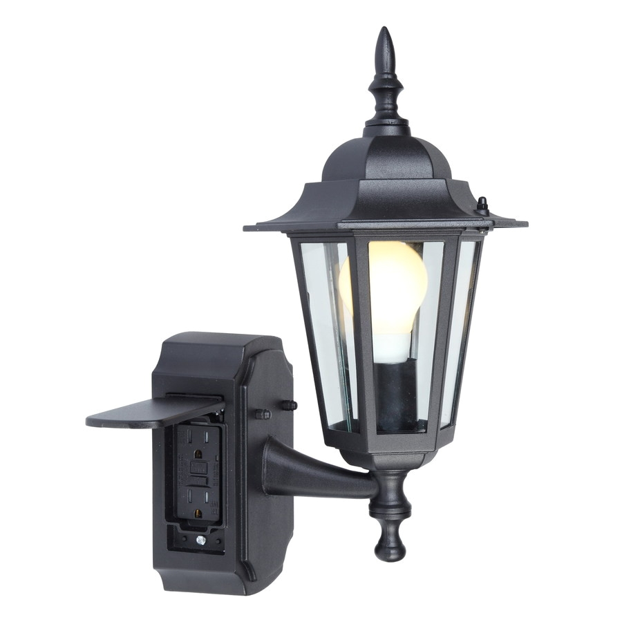 led outdoor security lighting fixtures awesome shop outdoor wall lighting at lowes