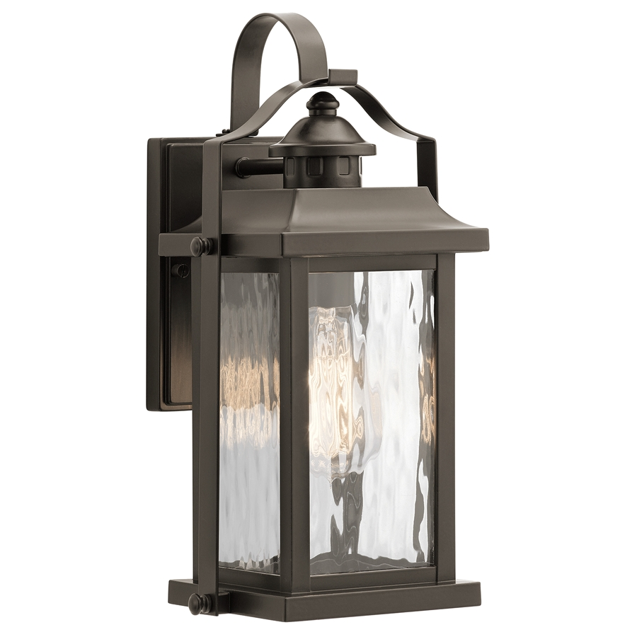 kichler linford 13 75 in h olde bronze medium base e 26 outdoor