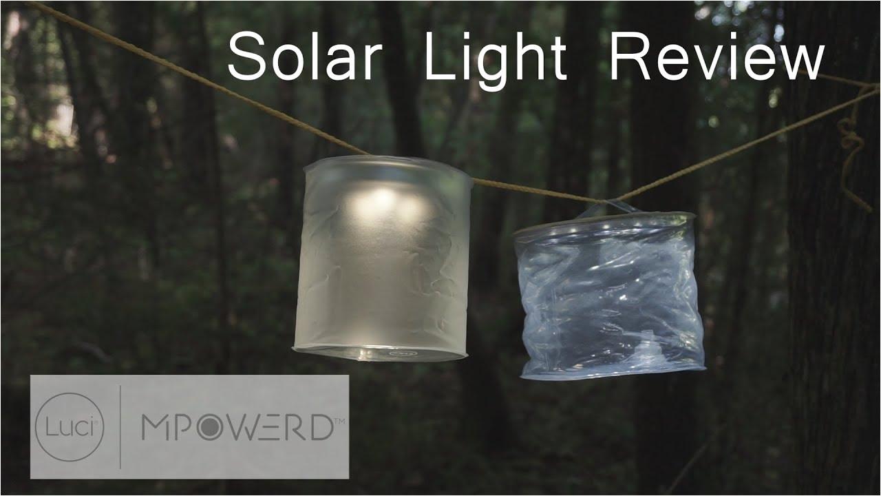 luci solar light review