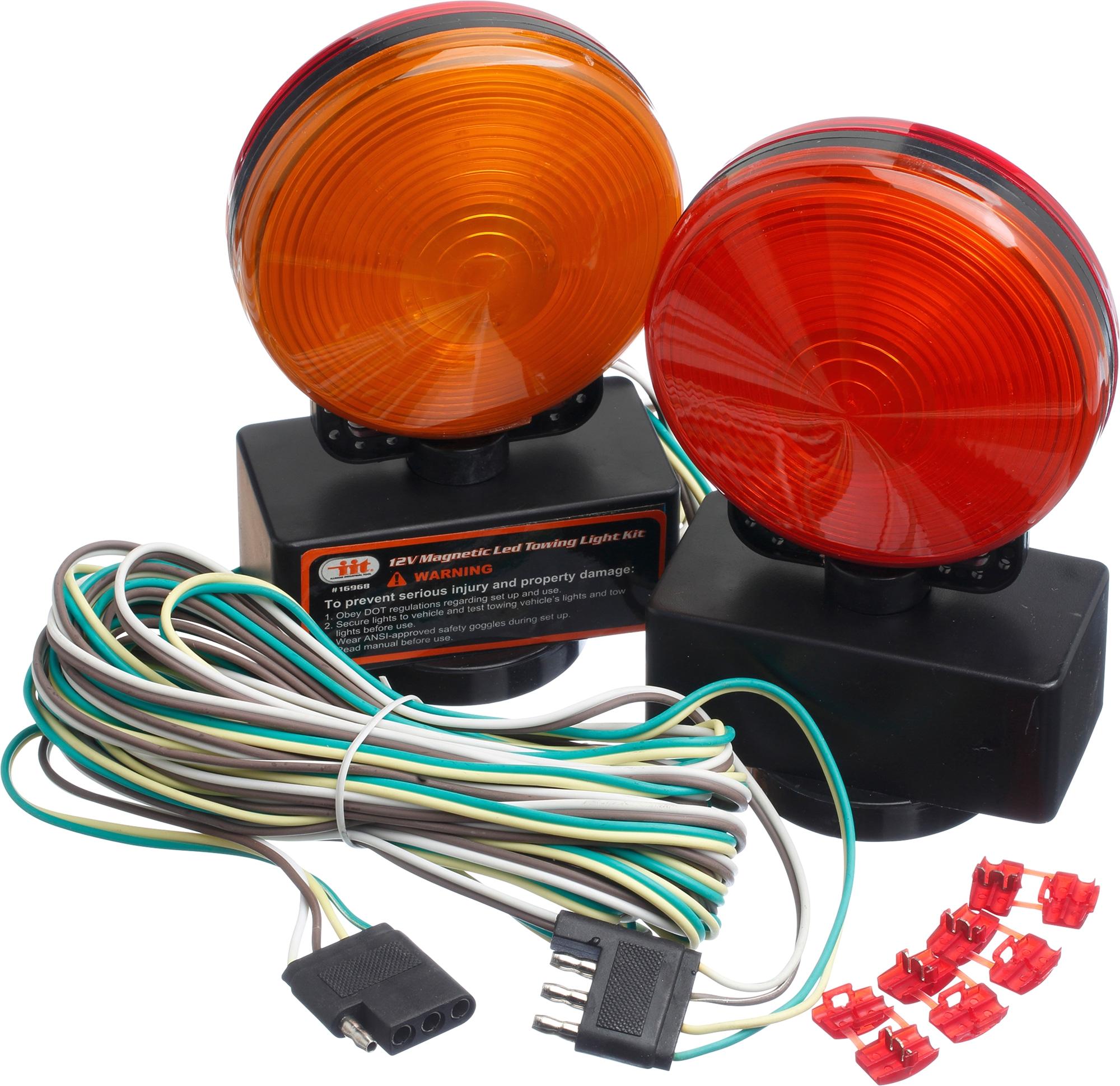 magnetic led towing light kit