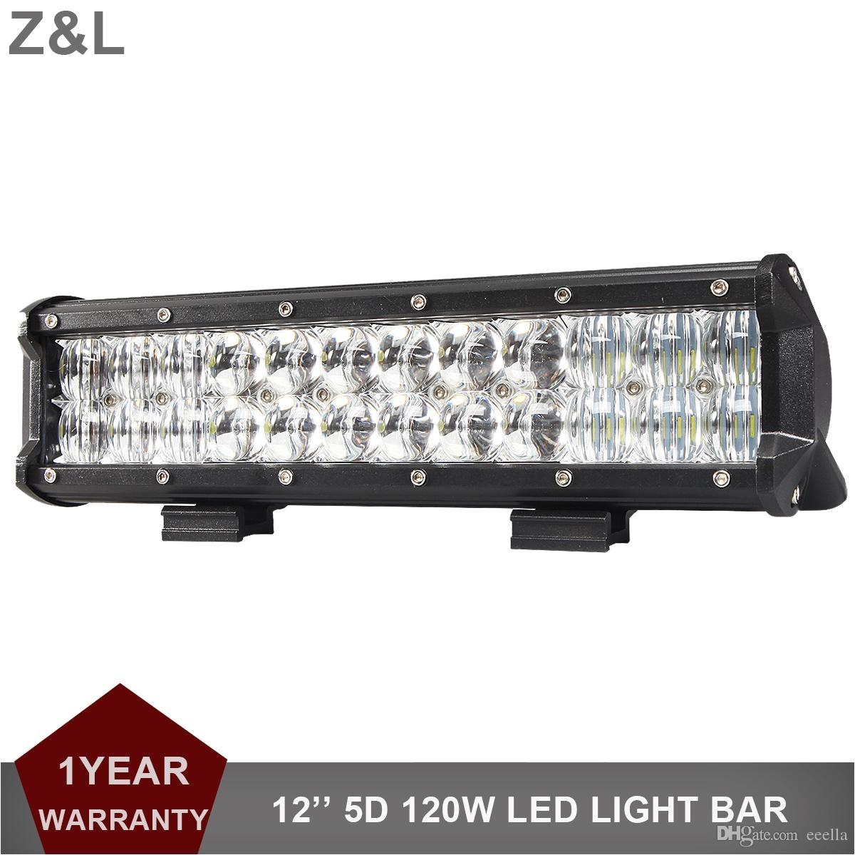 Marine Light Bars 5d 120w Offroad Led Light Bar 12 Inch Combo Car Suv Boat atv 4×4 4wd