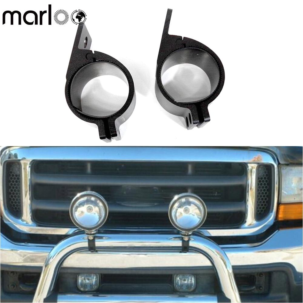 marloo pair 54mm 64mm 76mm universal bull bar bumper brackets 4x4 offroad utv atv work hid