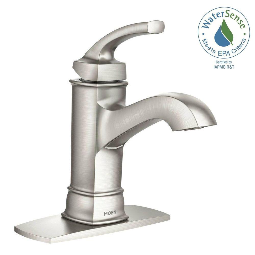 moen arbor faucet elegant moen bathroom sink faucets home depot