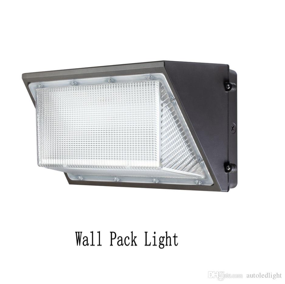 Mountable solar Lights Ul Dlc 80w 100w 120w 150w Led Wall Pack Light Waterproof Outdoor
