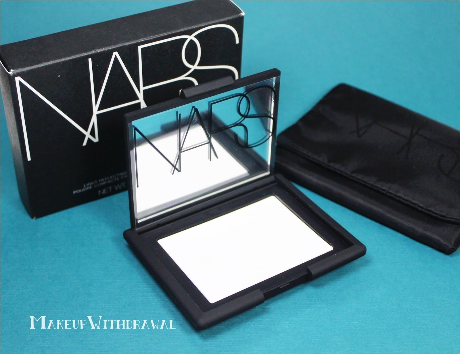 review nars light reflecting pressed powder