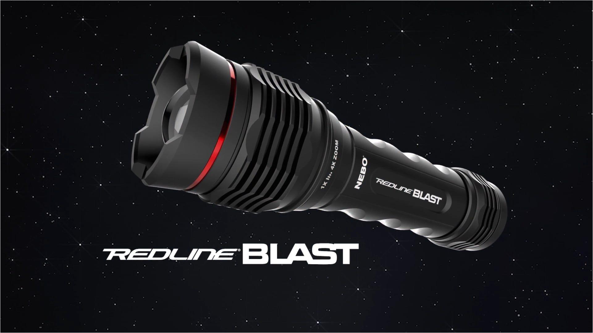 redline blast by nebo 1400 lumen led flashlight
