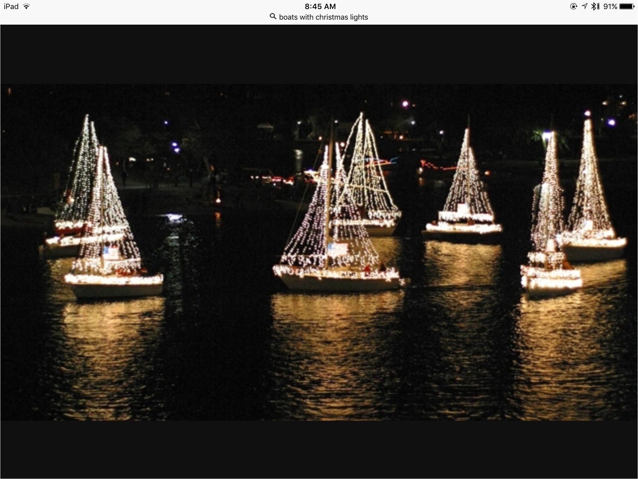 christmas lights boats christmas fairy lights ships boating boat
