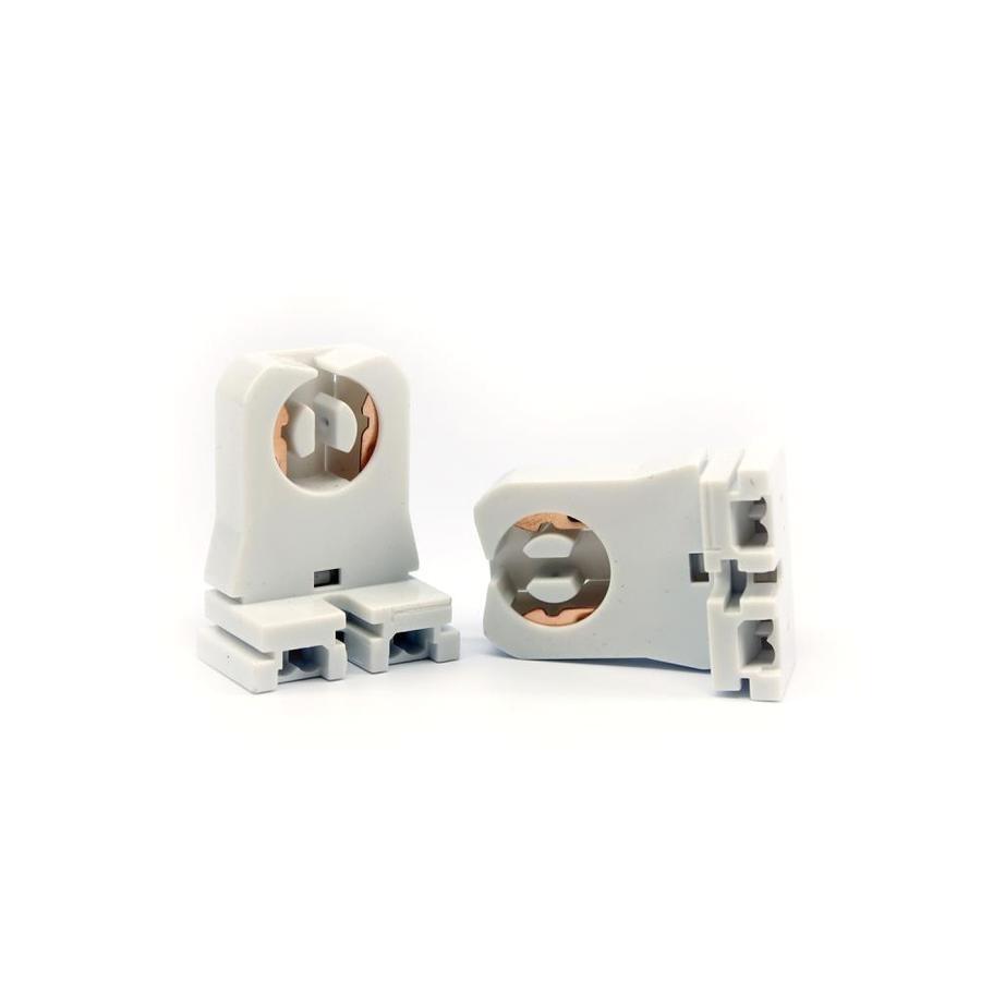 ge 2 pack white lamp holder