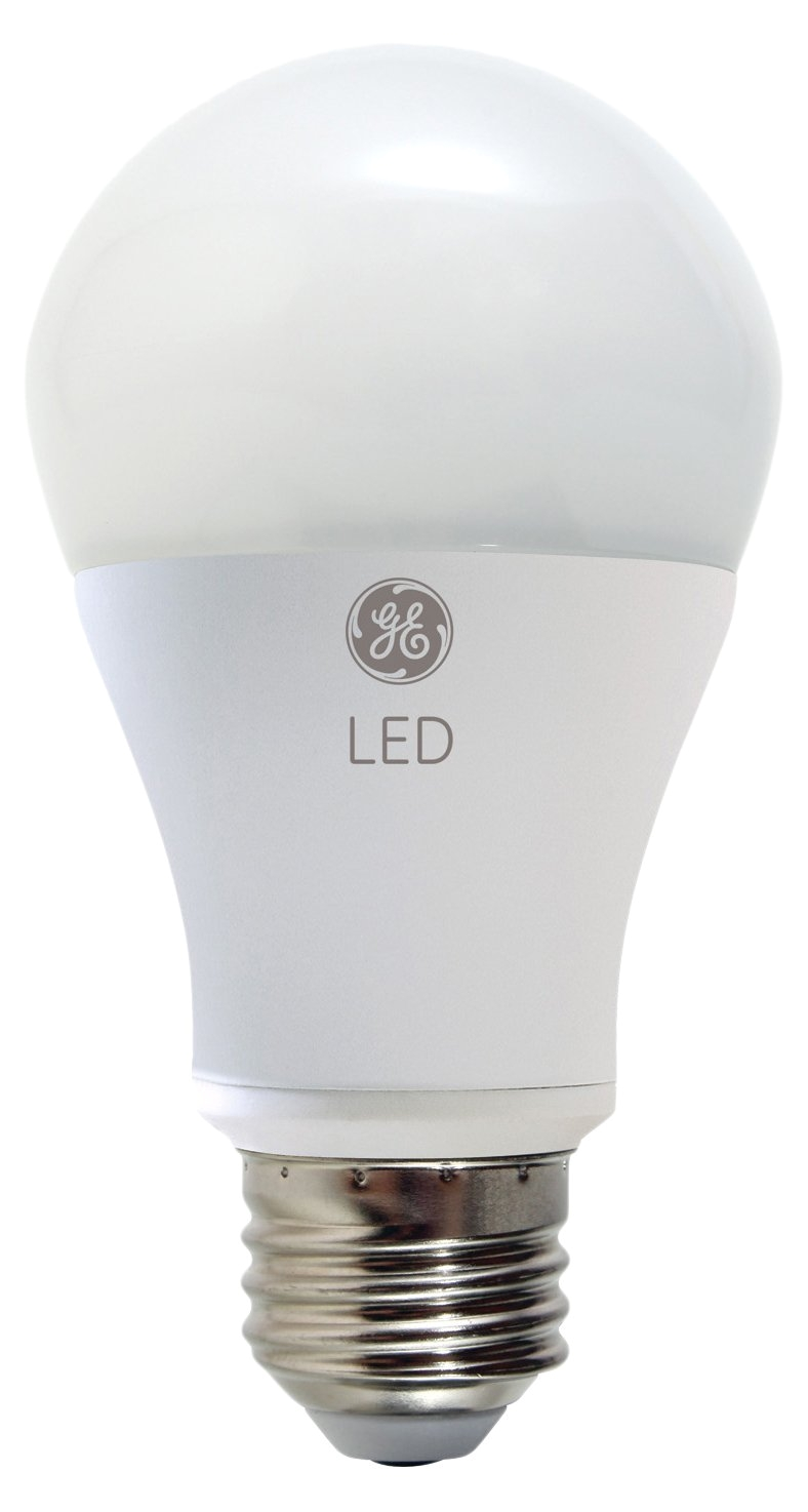 ge lighting 92145 led 11 watt 60 watt replacement 800 lumen a19 outdoor bulb with medium base soft white 1 pack amazon com