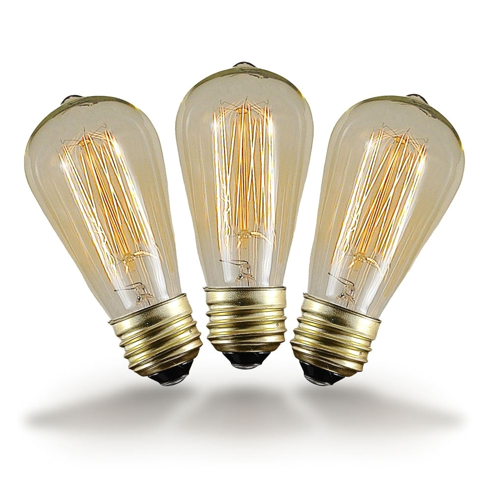 picture of st64 vintage edison bulb e26 40 watt on sale