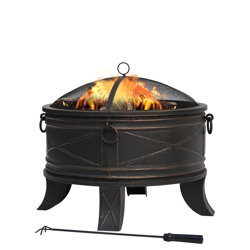 quadripod 26 in round fire pit