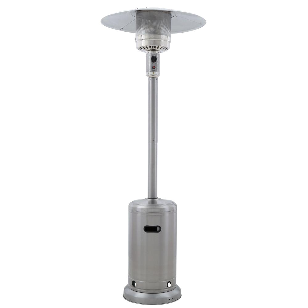 41000 btu stainless steel propane patio heater
