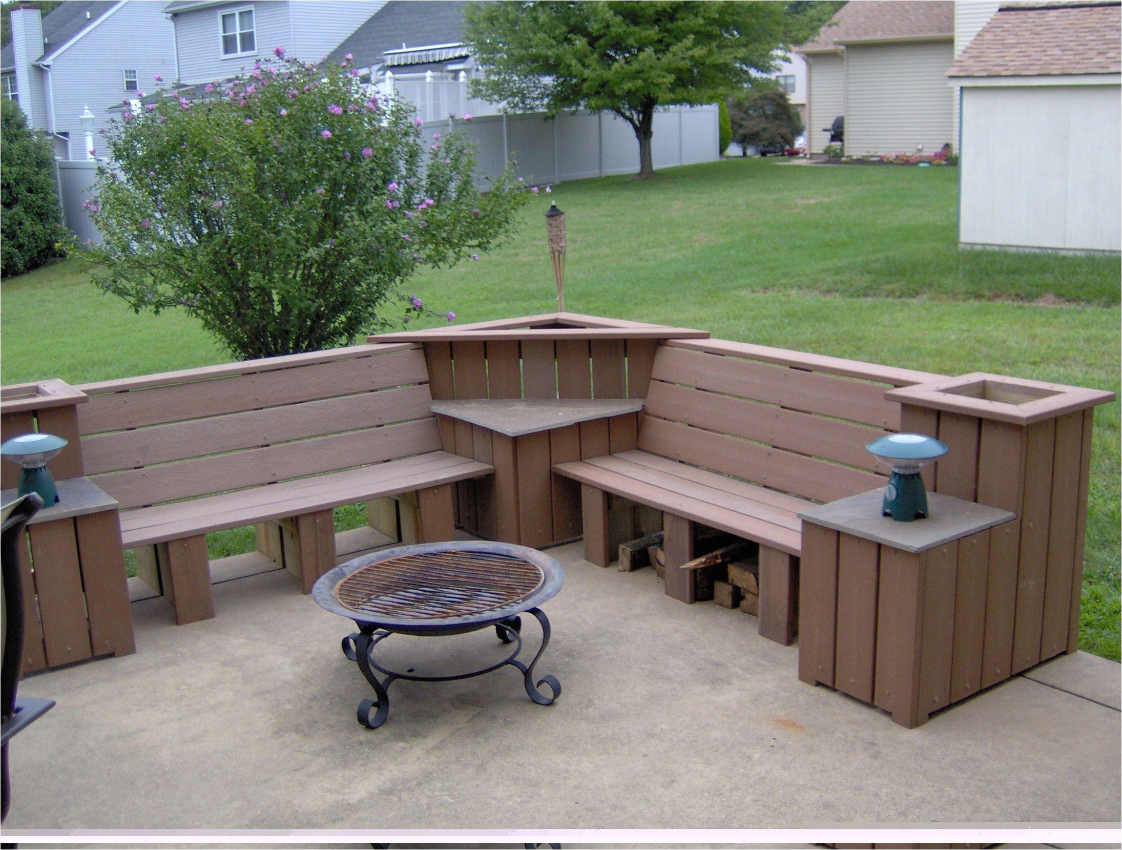 decking ideas benches decks and diy pergola outdoor corner bench patio bench