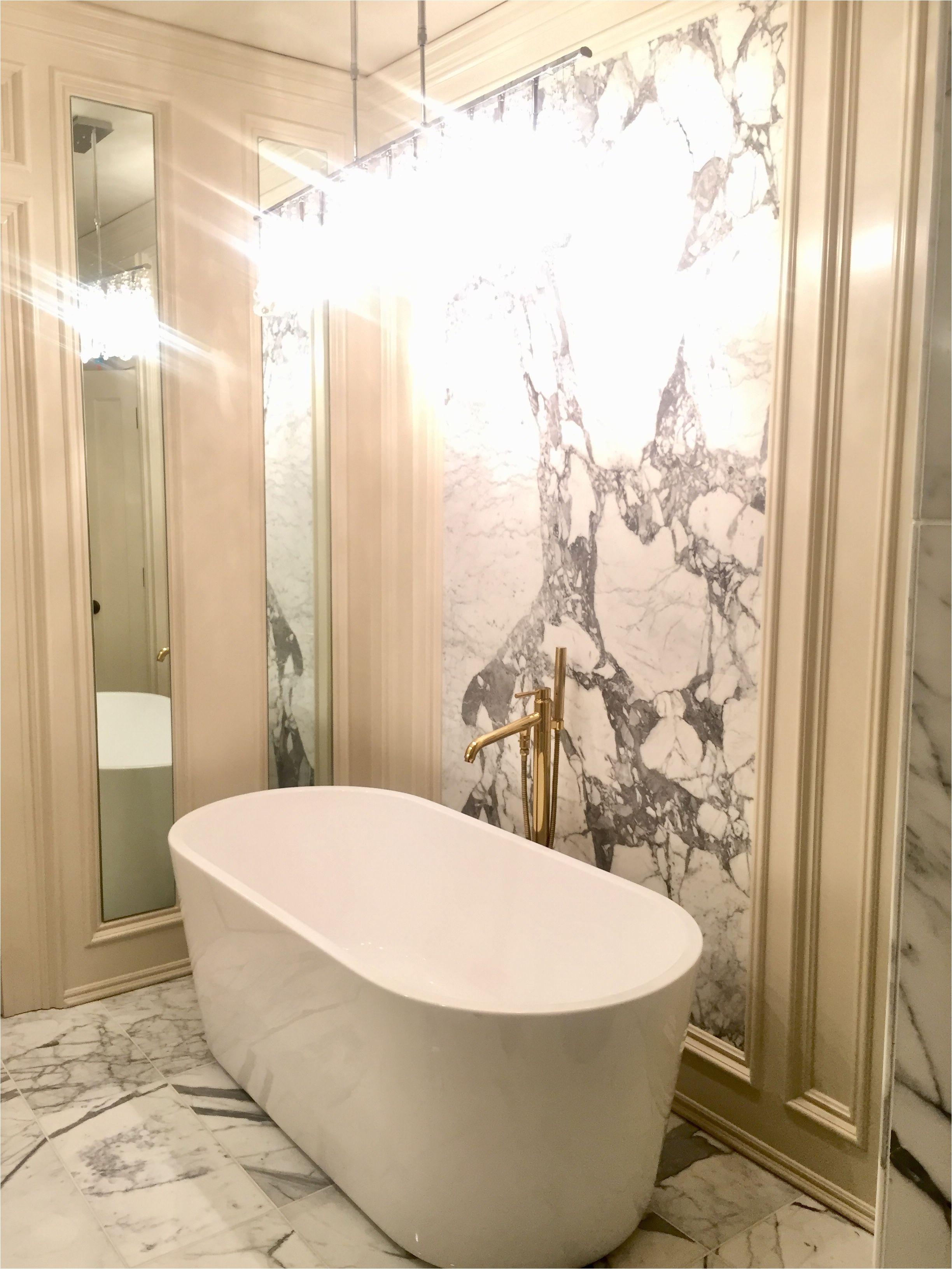 crystal bathtub new statuario marble slab backsplash ligne crystal chandelier