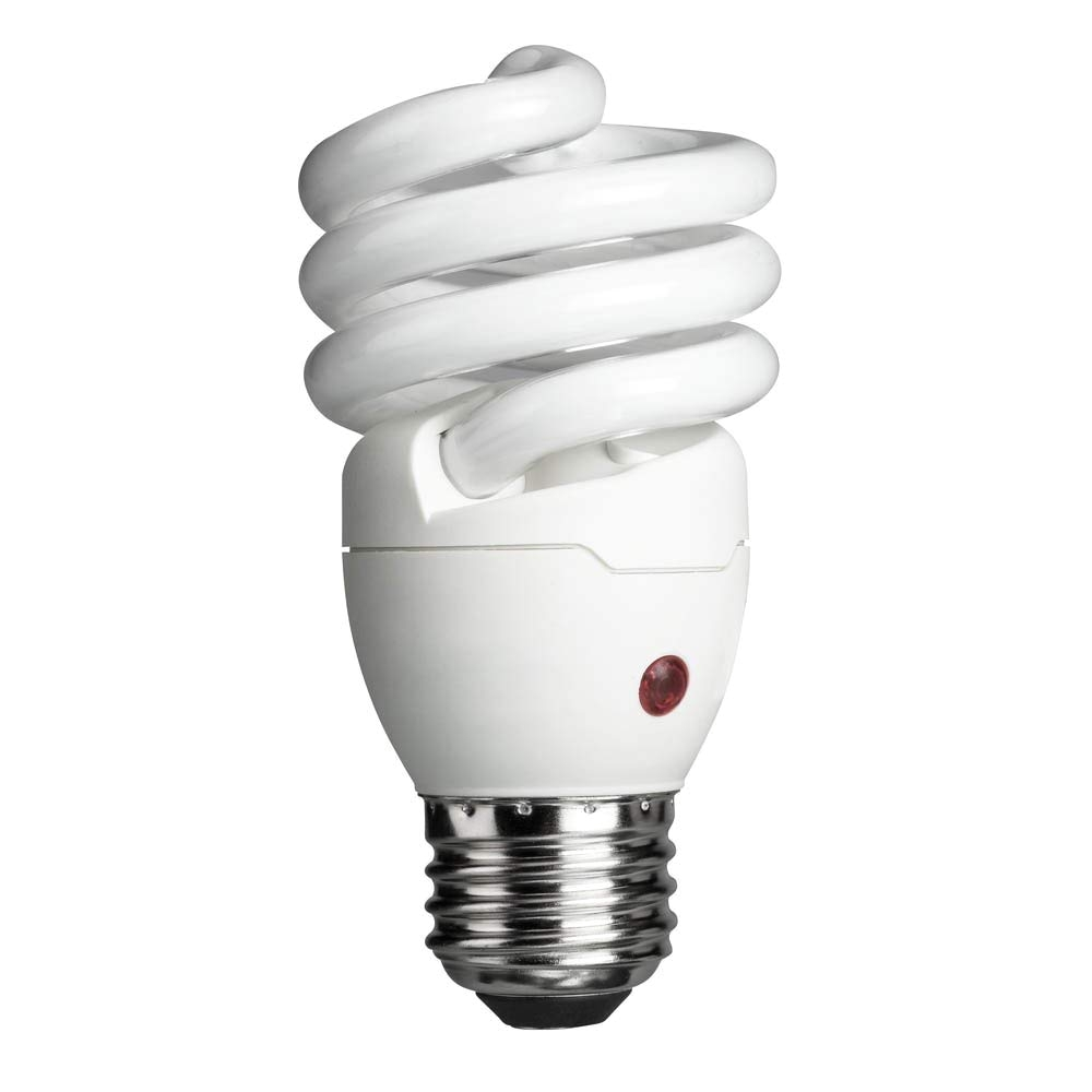 philips energy saver dusk to dawn compact fluorescent twister a19 light bulb 900 lumen 2700 kelvin 14 watt 60 watt equivalent medium base cfl