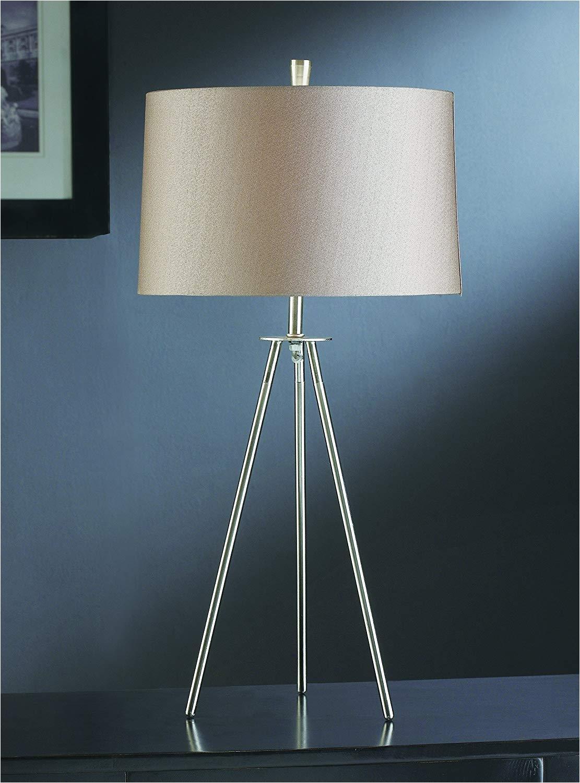 amazon com crestview collection tripod floor lamp in brushed nickel garden outdoor