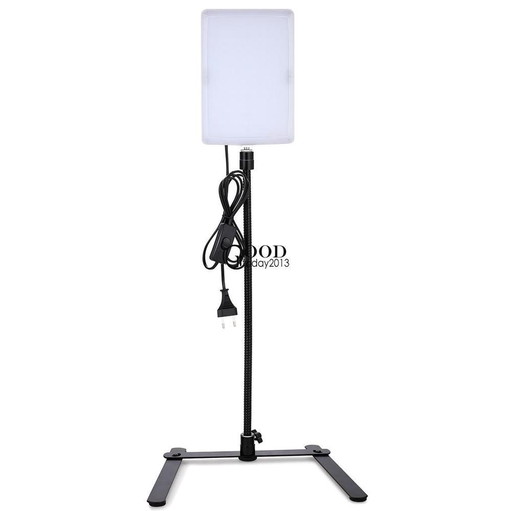led gooseneck photography studio video light panel camera photo lighting ebay