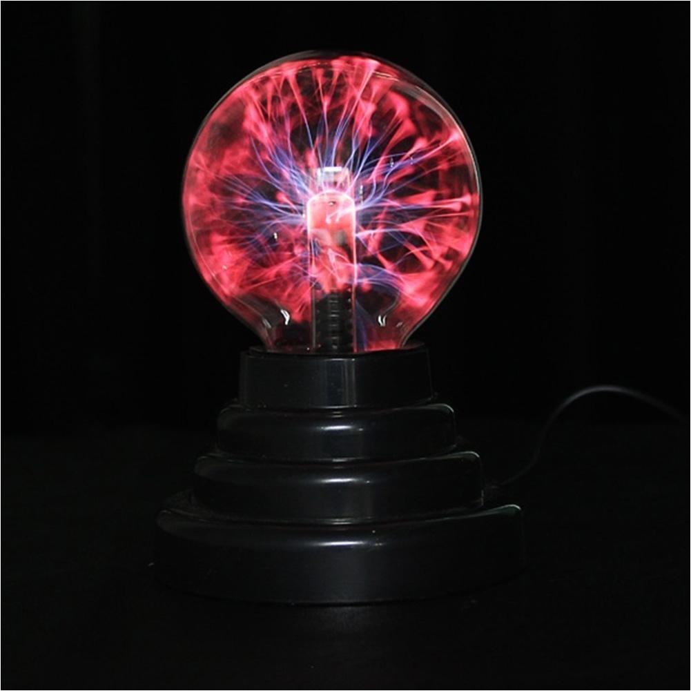 wholesale hot 3 inch magic plasma ball light kids room decor gift box lightning light lava lamp party cristal lamp ninght light