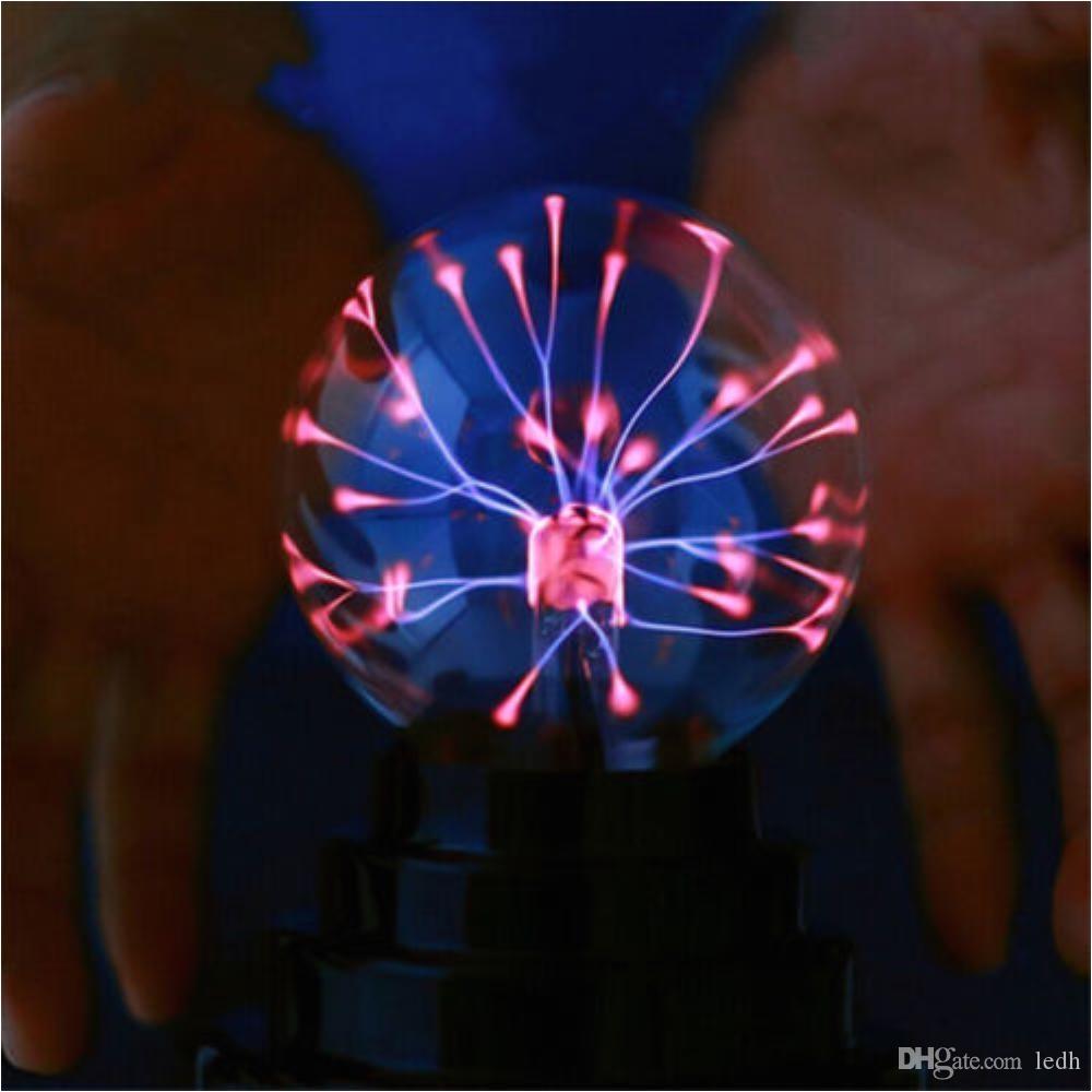 2018 glass plasma ball sphere light lamp party magical globe tesla 6 inches magic ball light plasma magic crysta ball lamp ion sphere night lamp from ledh