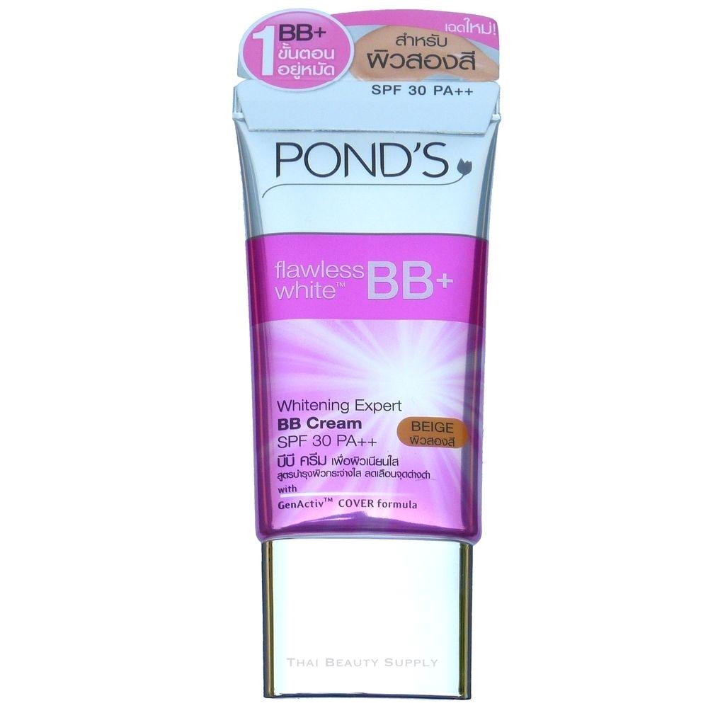 ponds flawless white bb cream skin whitening expert spf 30 beige ponds