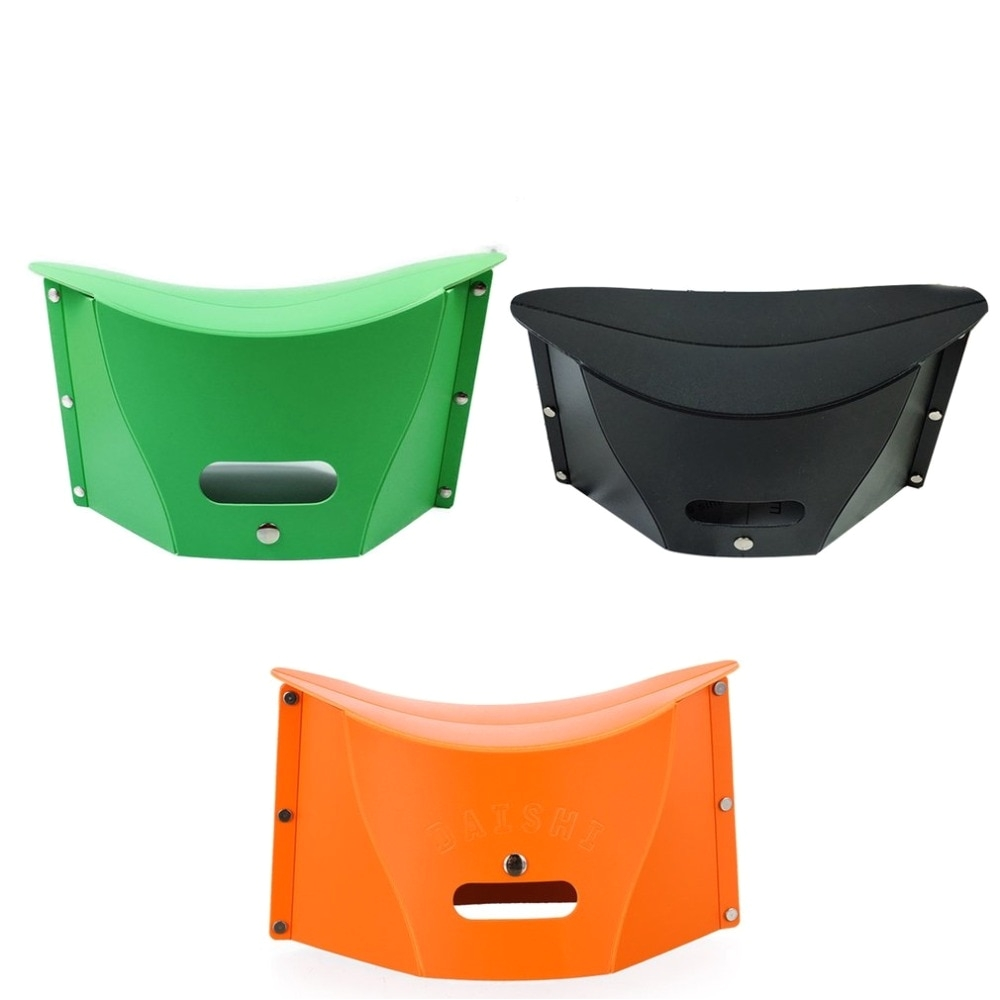 Portable Bathtub Camping Folding Step Stool Chair Portable Multifunction Plastic Stool Bench