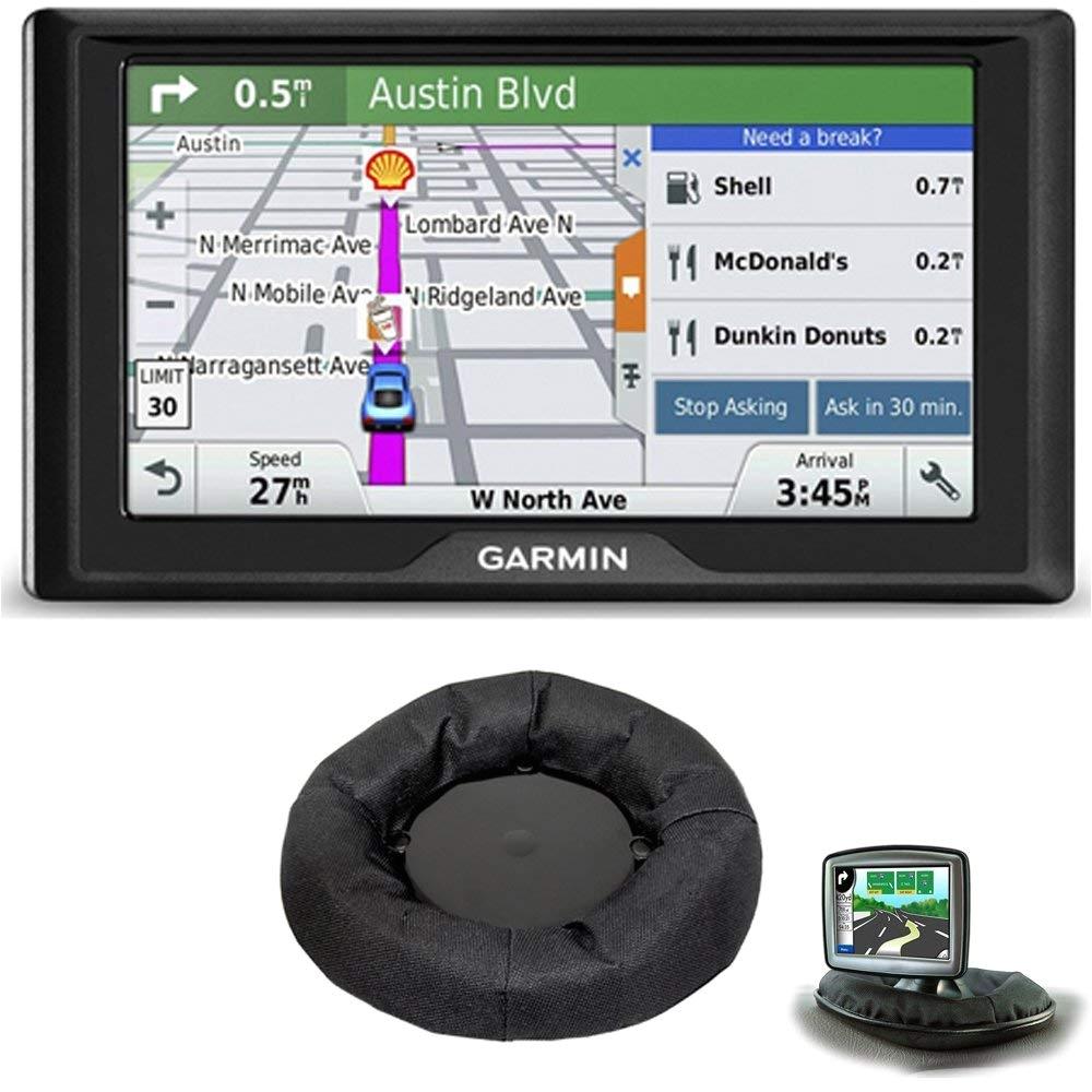 amazon com garmin drive 50lm gps navigator lifetime maps us 010 01532 0c dashboard mount bundle includes gps and nav mat portable gps dash mount cell