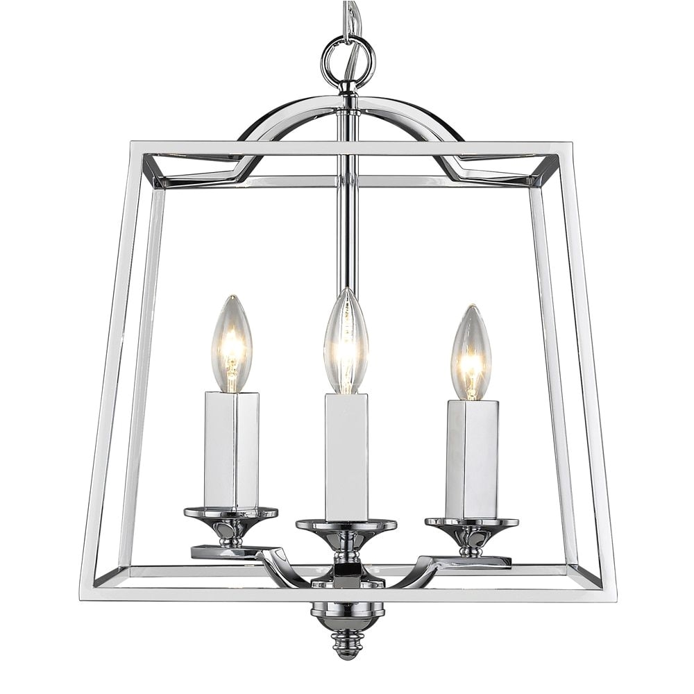 golden lighting athena 3 light pendant
