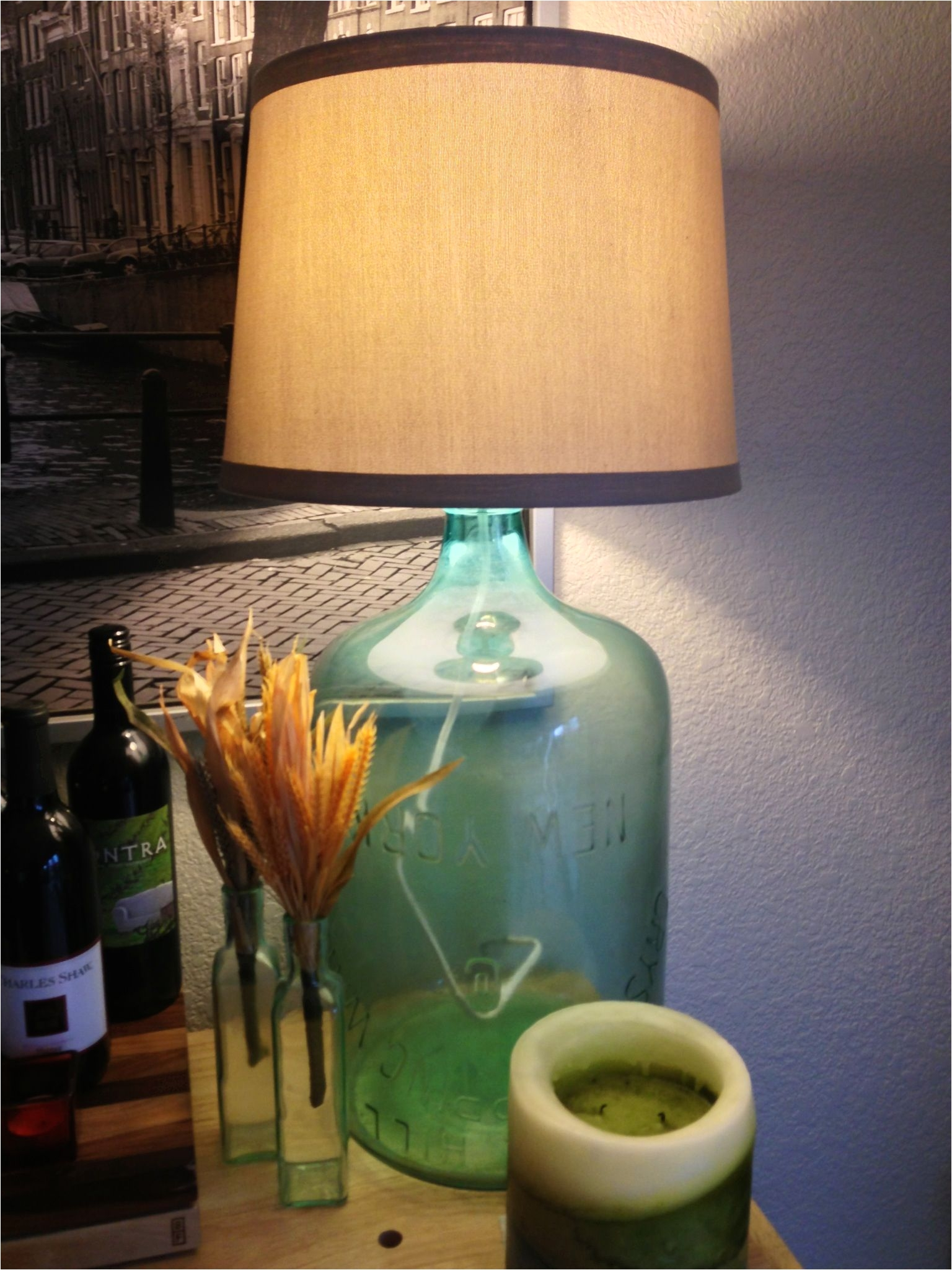 Pottery Barn Lighting Sale My Diy Pottery Barn Bottle Lamp 1883 Bottle for 10 On Craigslist