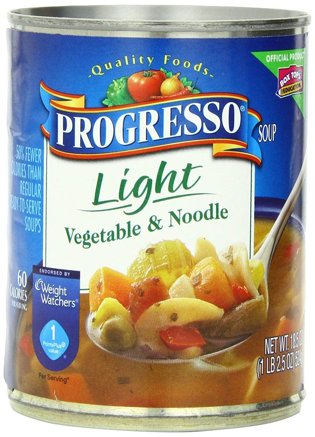 amazon com progresso light soup vegetable and noodle 18 5 ounce cans pack of 12 packaged chowders soups grocery gourmet food