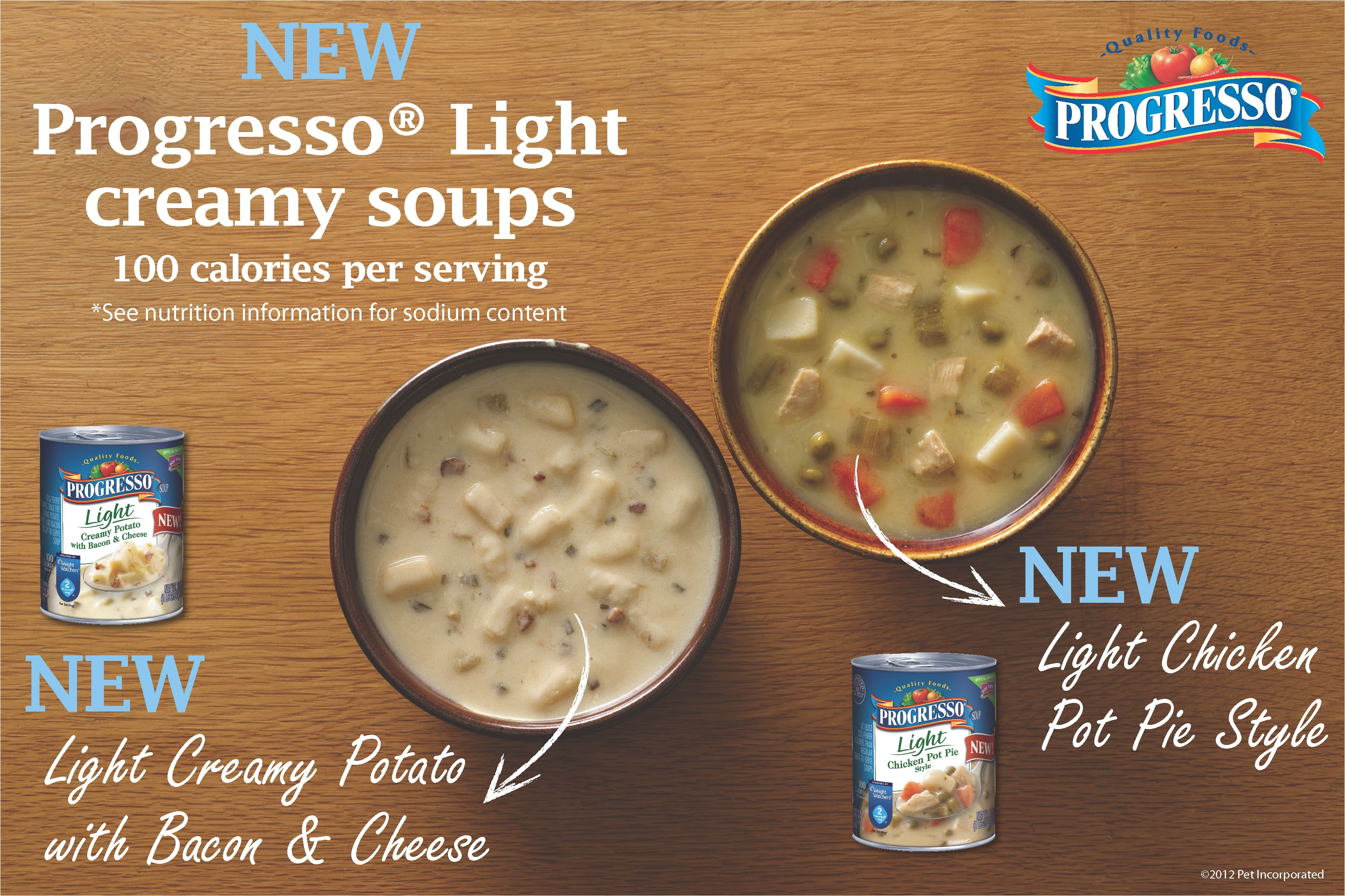 progressoa light soups