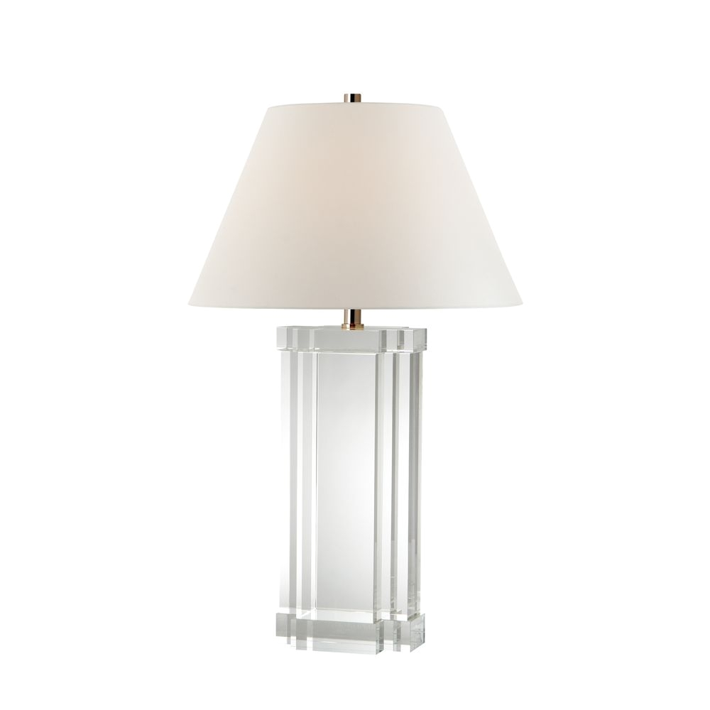 ralph lauren aveline crystal glass table lamp