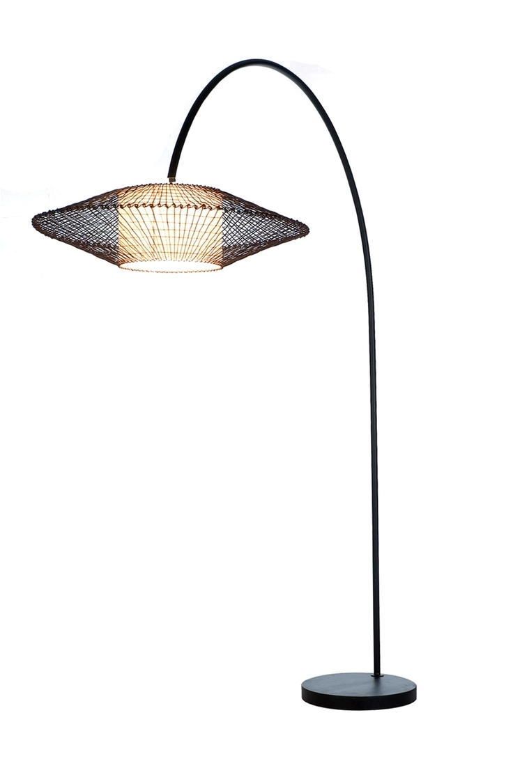 kai arc floor lamp designed by kenneth cobonpue
