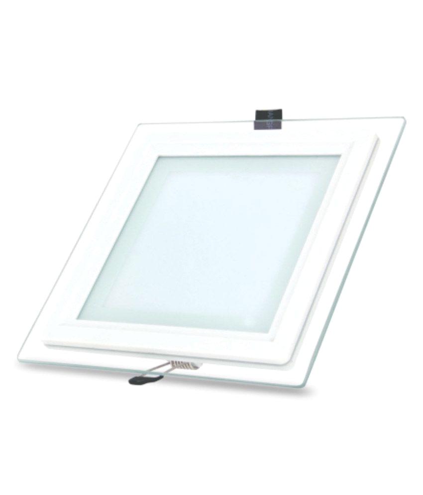 bluebird light virgin plastic dove led glass panel concealed white